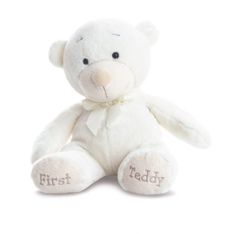 Bonnie First Teddy Cream plush toy 11.5In / 29 cm