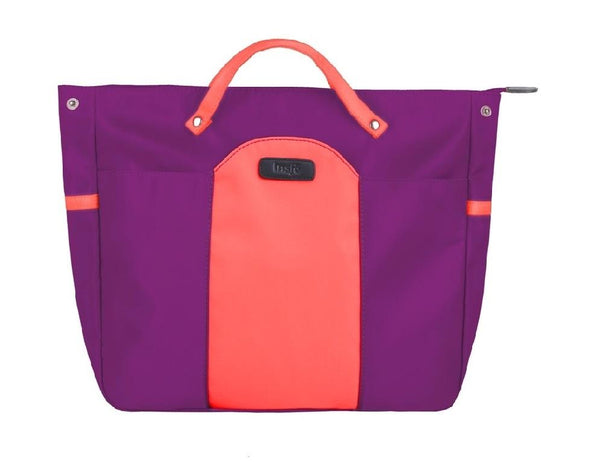 Insjö Kalla tote Plum Orange