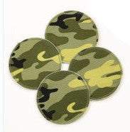 Breast Pads Camo 4-pack (2 pairs)