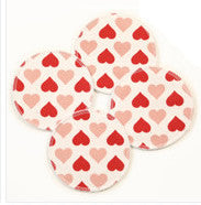 Breast Pads Hearts 4-pack (2 pairs)
