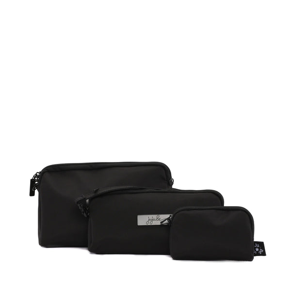 Ju-Ju-Be Onyx Be Set pouch set in the Black Out