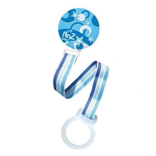 RaZ-Baby Pacifier Holder Blue