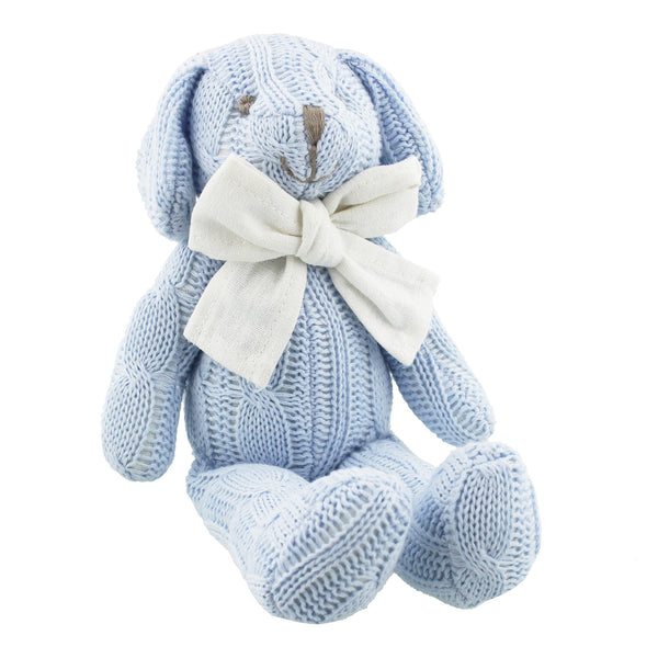 Petit Cheri Baby Collection Blue Puppy Soft Toy