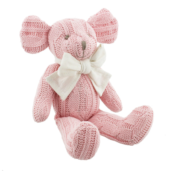 Petit Cheri Baby Collection Pink Mouse Soft Toy