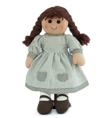 Pomme-Pidou traditional rag doll Marie, 25 cm
