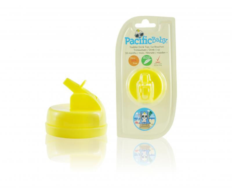 Pacific Baby Drink Top, Yellow