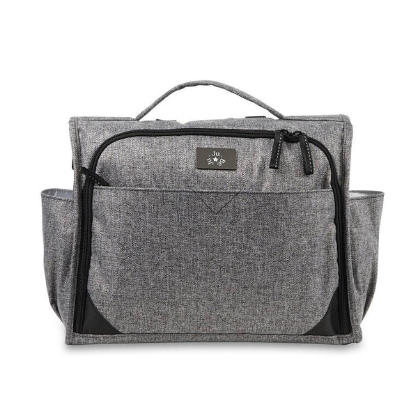 Ju-Ju-Be Classic Convertible diaper bag in Graphite *