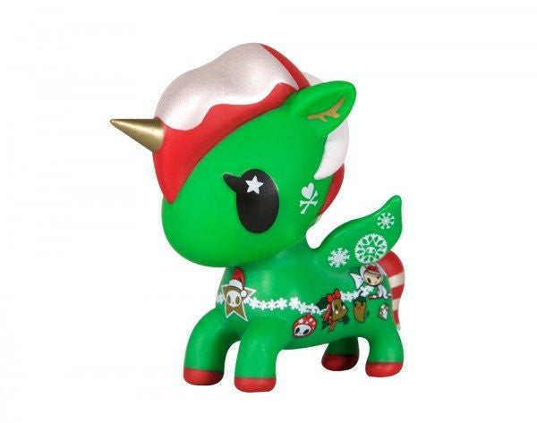 "tokidoki Holiday 5"" Unicorno vinyl collectible"