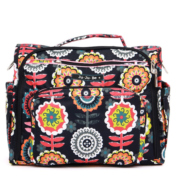Ju-Ju-Be B.F.F. diaper bag in Dancing Dahlias *