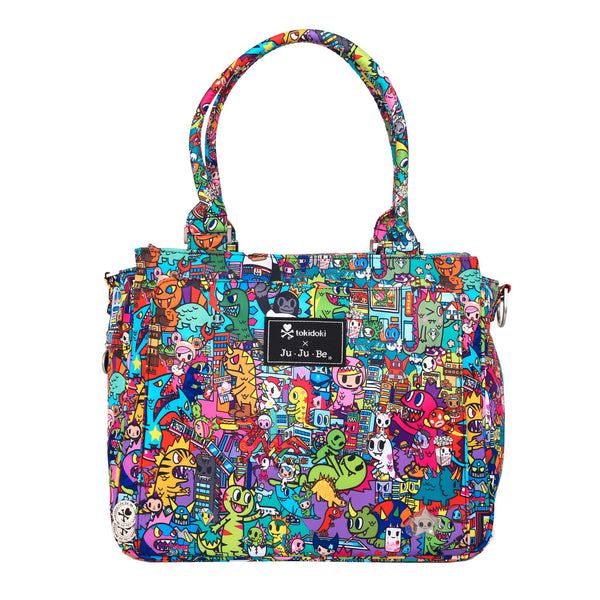 Ju-Ju-Be x Tokidoki Be Classy changing bag Kaiju City *