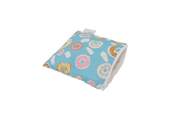 Itzy Ritzy Snack Happens Reusable Snack and Everything Bag Donut Shop