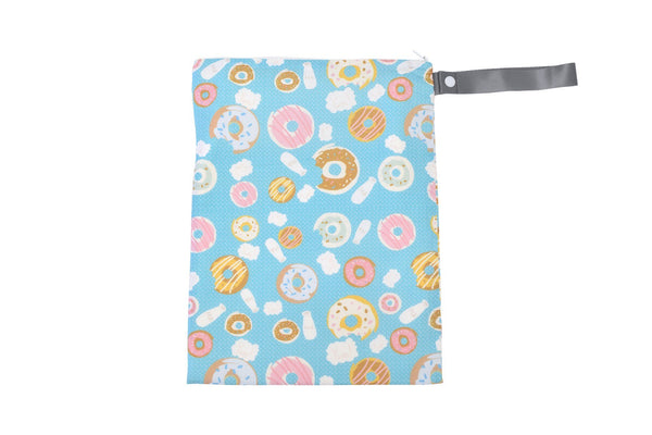 Itzy RitzyTravel Happens Sealed Wet Bag with Adjustable Handle Donut Shop