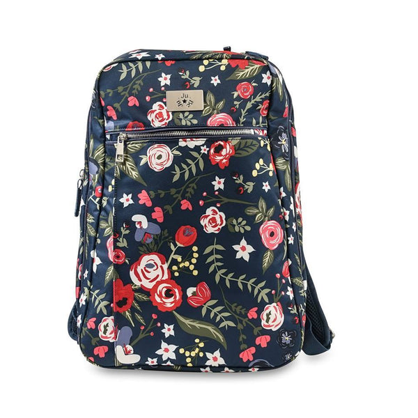 Ju-Ju-Be Ballad diaper backpack in Midnight Posy *