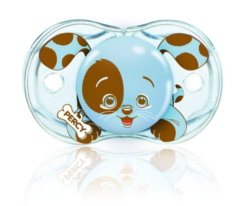 RaZ-Baby Keep-It-Kleen pacifier Percy Puppy