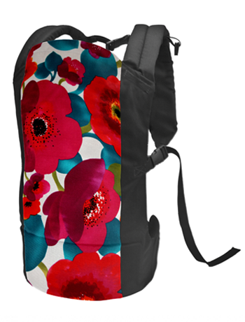 Rose and Rebellion baby carrier Poppy Love
