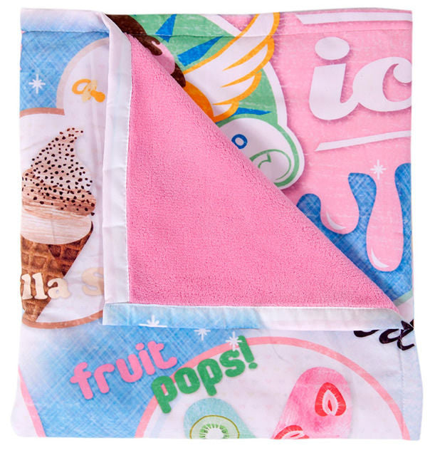 Weegoamigo Ice Cream Adventure Blanket