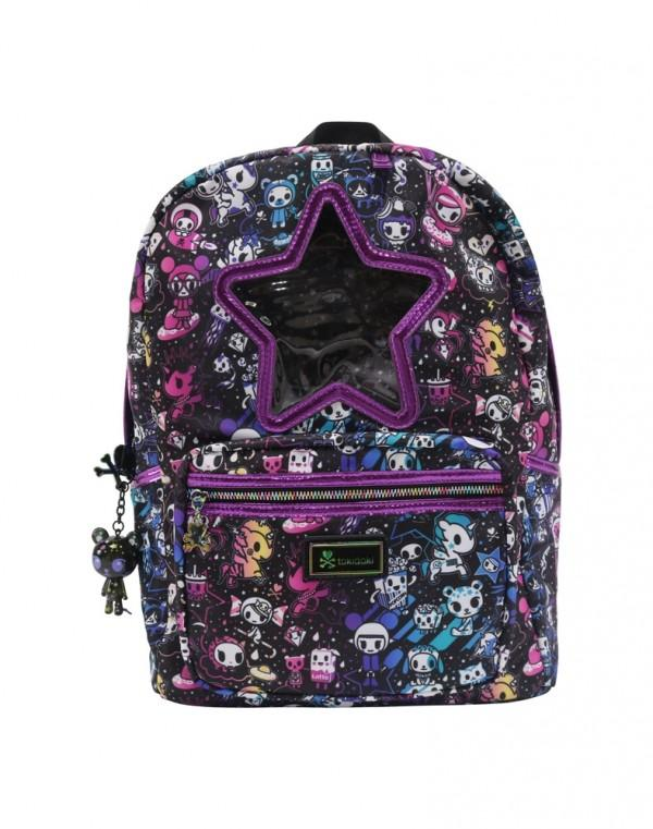 tokidoki Galactic Dreams Star Window Backpack
