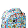 World of Warcraft x Ju-Ju-Be Be Right Back diaper backpack in March of the Murlocs *