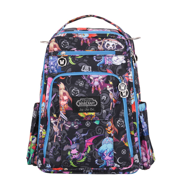 World of Warcraft x Ju-Ju-Be Be Right Back diaper backpack in Cute But Deadly