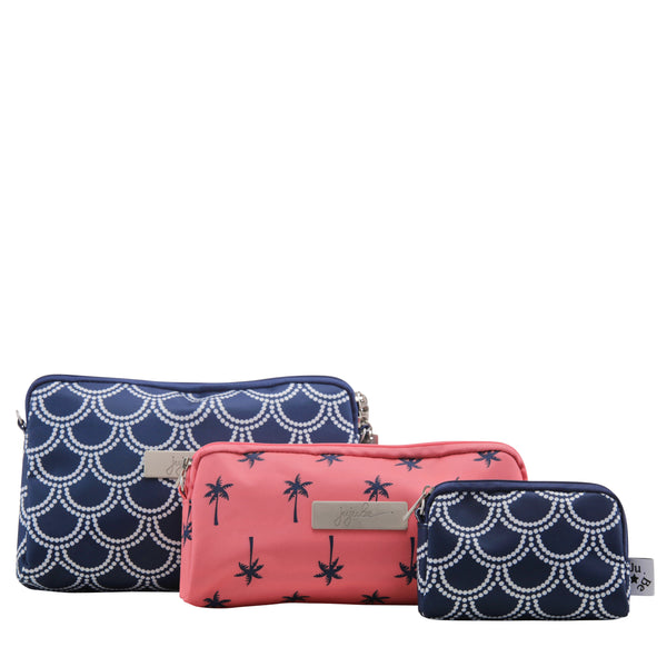 Ju-Ju-Be Coastal collection Be Set pouch set in the Newport *