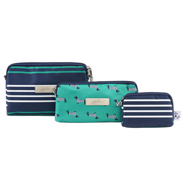 Ju-Ju-Be Coastal collection Be Set pouch set in the Providence *