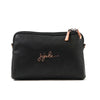Ju-Ju-Be Ever Rose Gold collection Be Set pouch set in Noir *