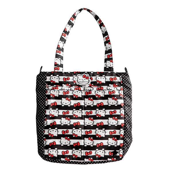 Ju-Ju-Be for Hello Kitty Be Light diaper bag in Dots & Stripes