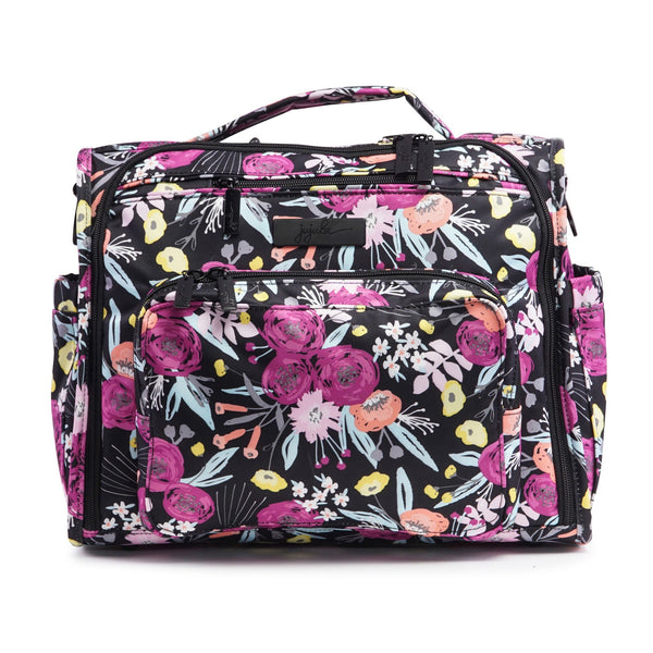 Ju-Ju-Be Onyx B.F.F. changing bag in Black and Bloom *