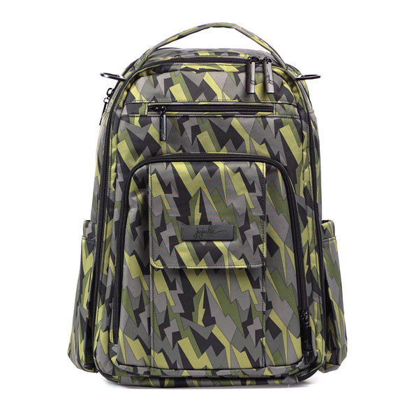 Ju-Ju-Be Onyx Be Right Back changing backpack Black Lightning *