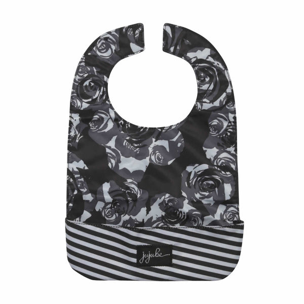 Ju-Ju-Be Onyx Be Neat Bib in Black Petals