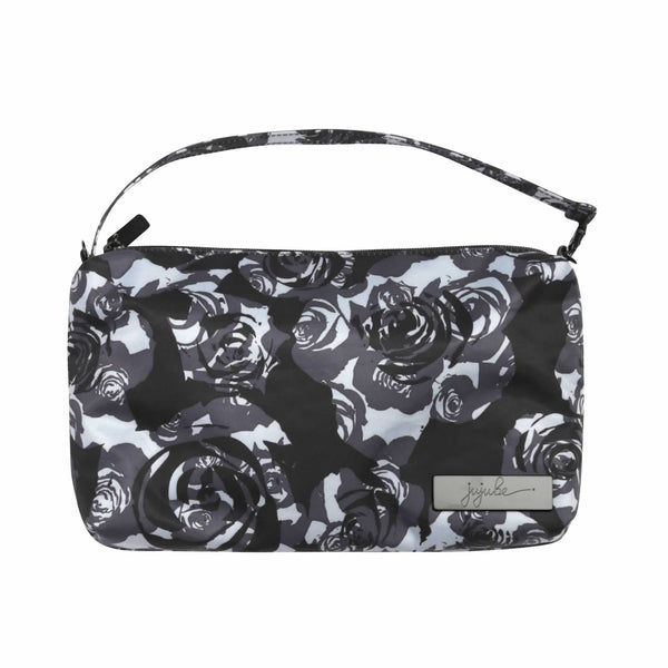 Ju-Ju-Be Onyx Be Quick pouch in Black Petals *
