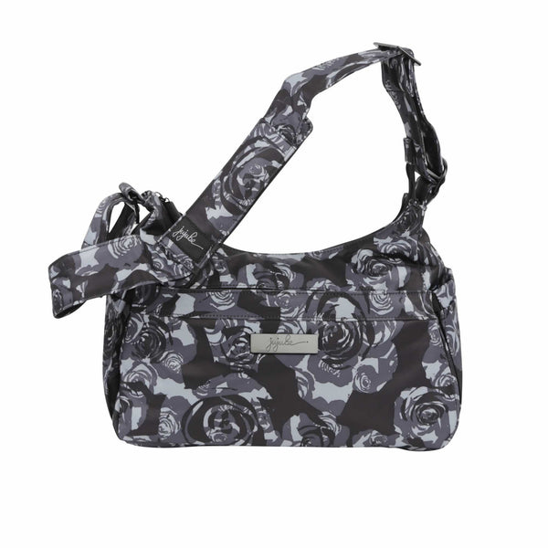 Ju-Ju-Be Onyx HoboBe changing bag in Black Petals *