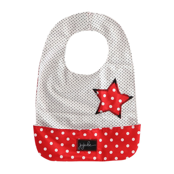 Ju-Ju-Be Onyx Be Neat Bib in Black Ruby