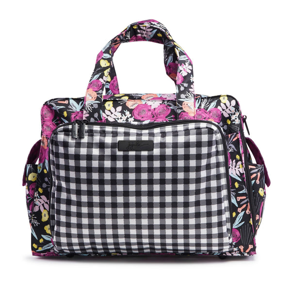 Ju-Ju-Be Onyx Be Prepared changing bag in Gingham Bloom *