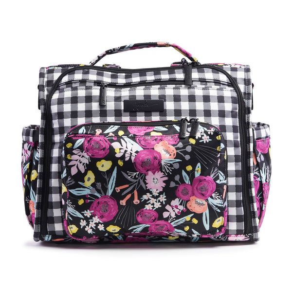 Ju-Ju-Be Onyx B.F.F. changing bag in Gingham Bloom *