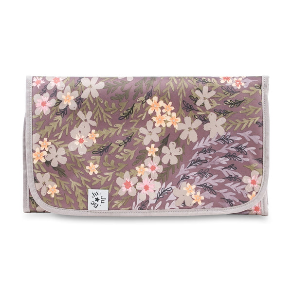 Ju-Ju-Be Rose Gold Changing Pad in Sakura at Dusk *
