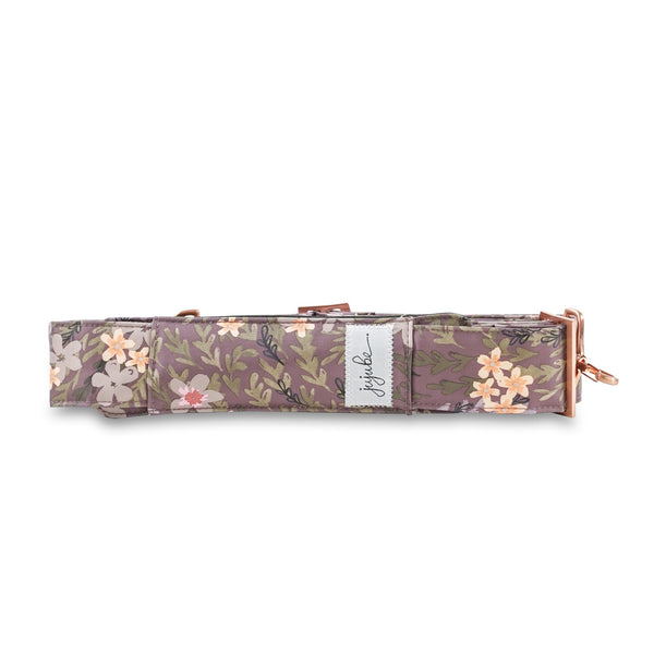 Ju-Ju-Be Rose Gold Messenger Strap in Sakura at Dusk *