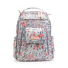 Ju-Ju-Be Rose Gold Be Right Back changing backpack in Sakura Swirl with Pink Lining