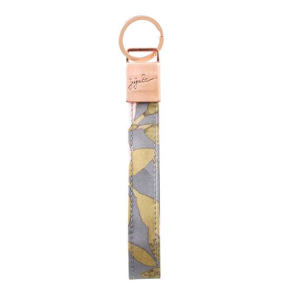 Ju-Ju-Be Rose Gold Wristlet Keychain in Whimsical Whisper
