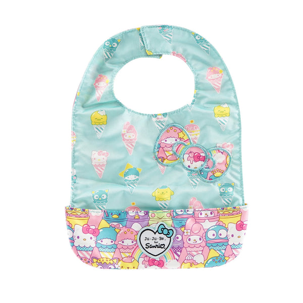 Ju-Ju-Be for Sanrio Be Neat Bib in Hello Sanrio Sweets