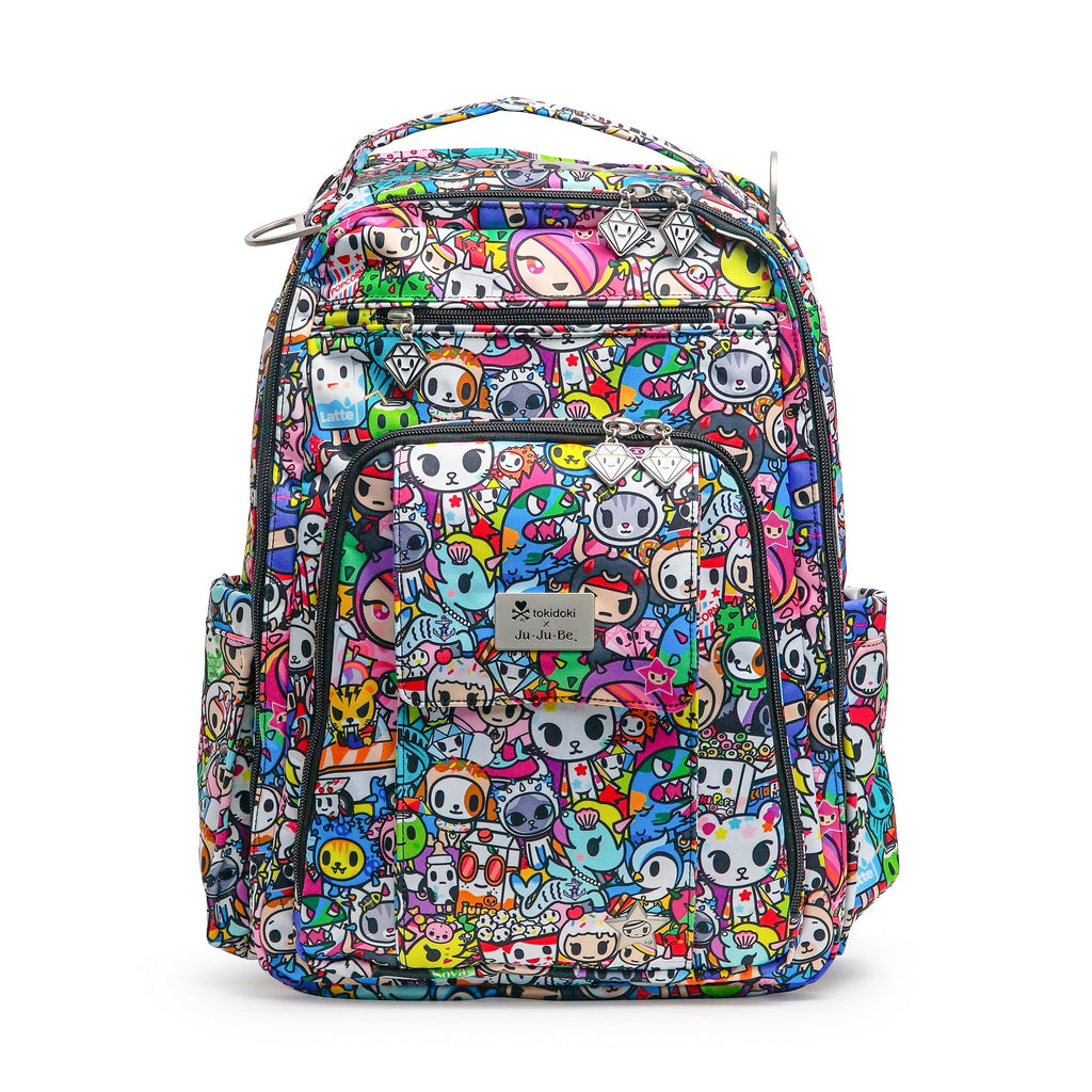 Ju-Ju-Be x Tokidoki Be Right Back diaper backpack in Iconic 2.0 *