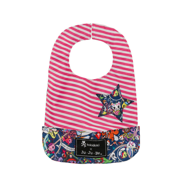 Ju-Ju-Be x Tokidoki Be Neat Bib in Sea Punk*