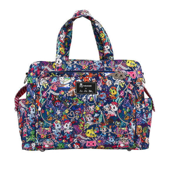 Ju-Ju-Be x Tokidoki Be Prepared diaper bag in Sea Punk *