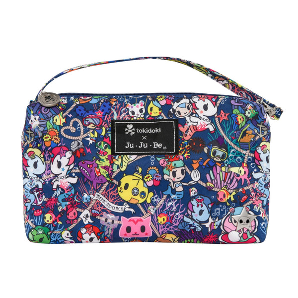 Ju-Ju-Be x Tokidoki Be Quick pouch in Sea Punk *