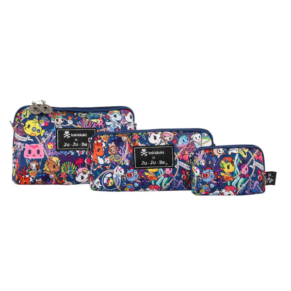 Ju-Ju-Be x Tokidoki Be Set pouch set in Sea Punk *