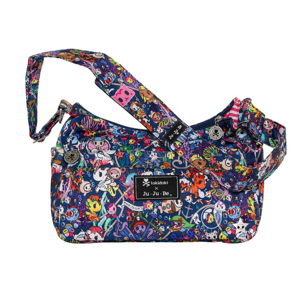 Ju-Ju-Be x tokidoki HoboBe diaper bag in Sea Punk *