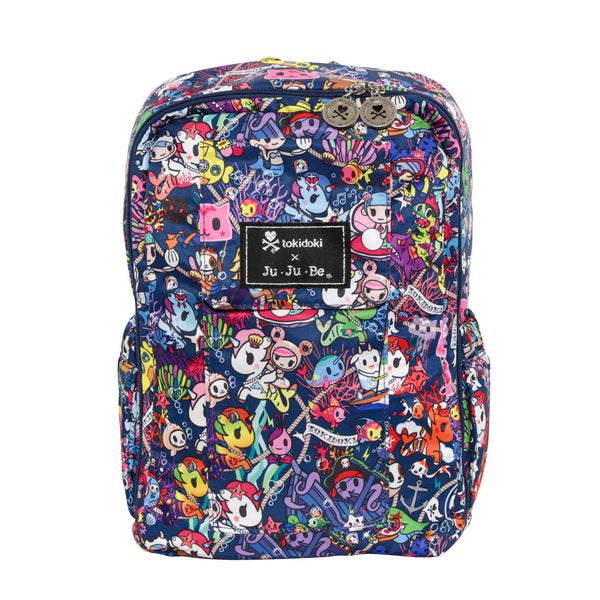 Ju-Ju-Be x Tokidoki Mini Be backpack in Sea Punk *