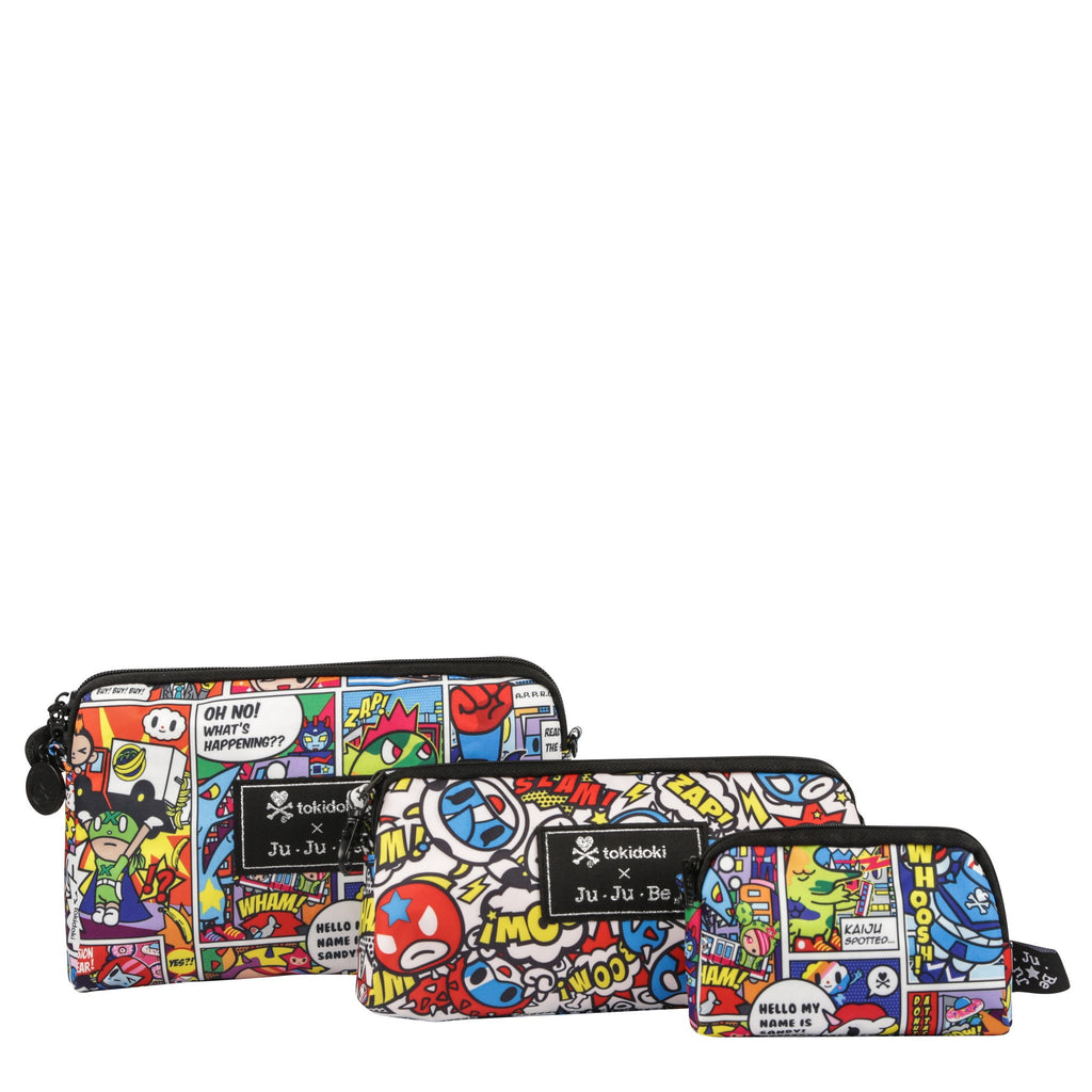 Ju-Ju-Be x Tokidoki Be Set pouch set in Super Toki *