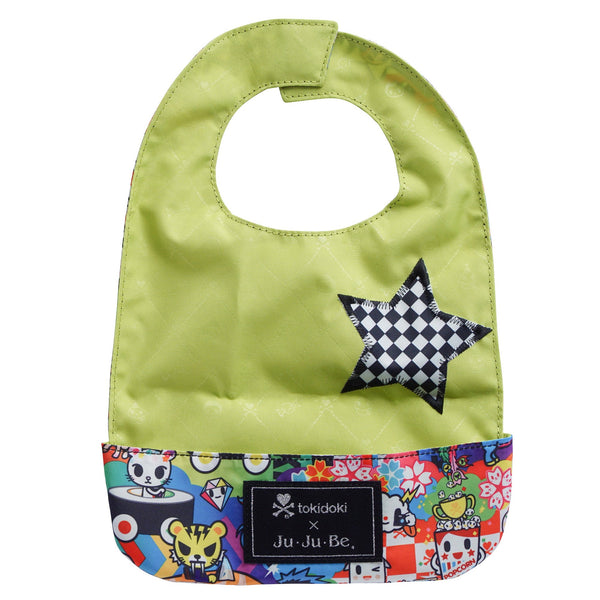 Ju-Ju-Be x Tokidoki Be Neat Bib in Sushi Cars *