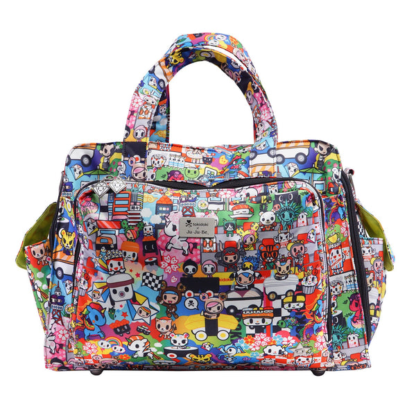 Ju-Ju-Be x Tokidoki Be Prepared diaper bag in Sushi Cars *